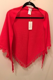 Minnie Rose Croceted Cotton Shawl - Front cropped