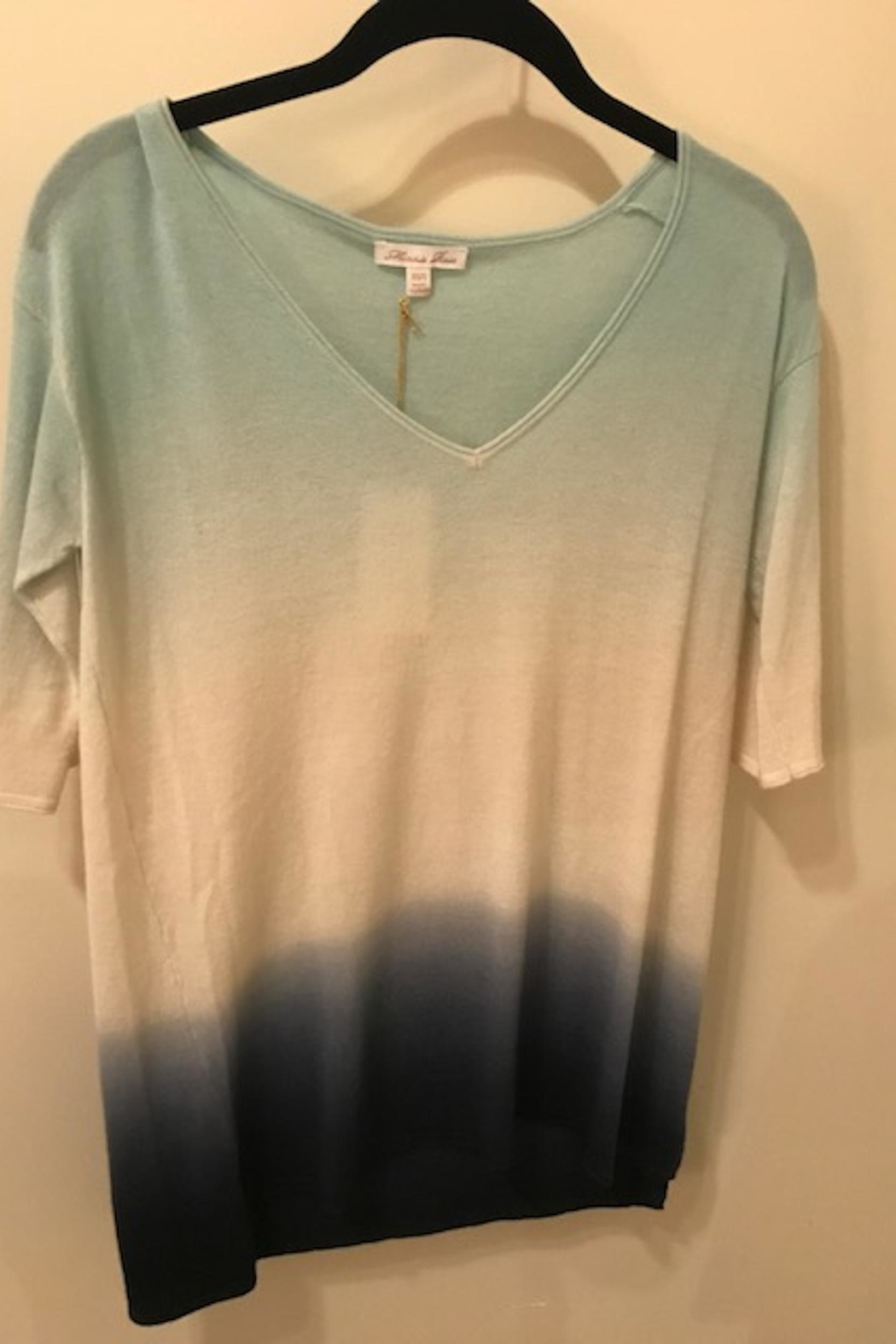 Minnie Rose Ombre Cashmere Sweater - Main Image