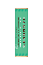 Hammond's Candies MINT CHOCOLATE CHIP CHOCOLATE CANDY BAR - Front cropped