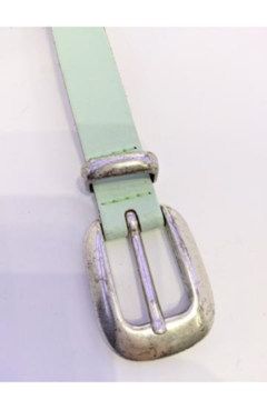 DiJore Mint colored leather belt - Alternate List Image