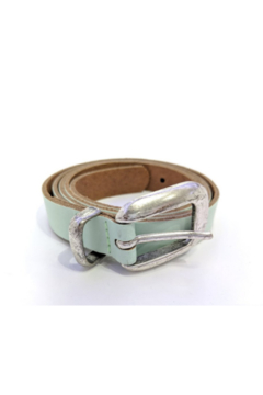 DiJore Mint colored leather belt - Product List Image