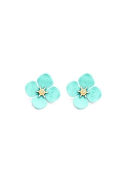 Wild Lilies Jewelry  Mint Flower Studs - Product Mini Image