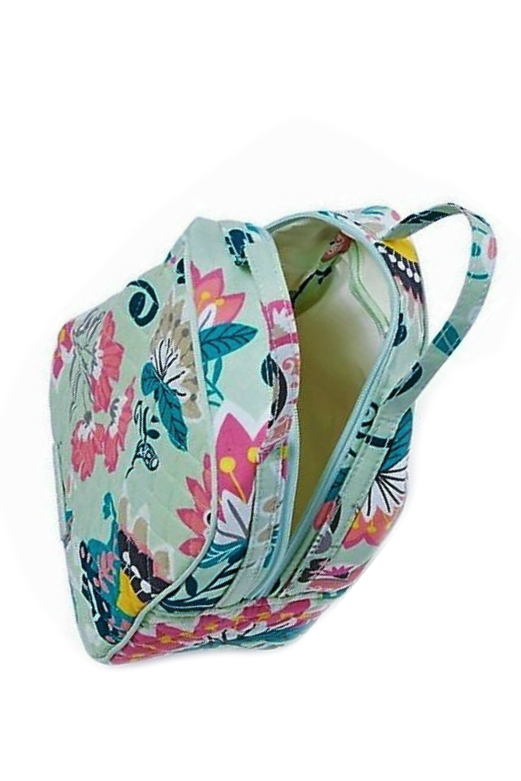 Vera Bradley Mint Flowers Lunch Bunch - Front Full Image