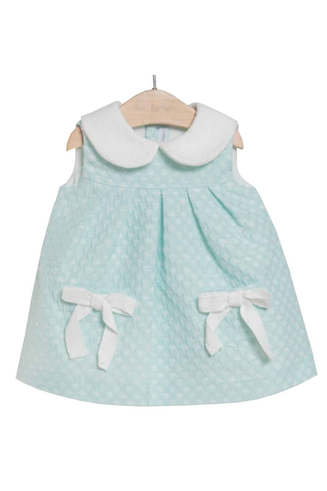 Fina Ejerique Mint Green Dress. - Front Cropped Image