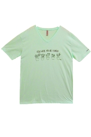 Never Lose Hope Designs Mint Grow Shirt - Front cropped
