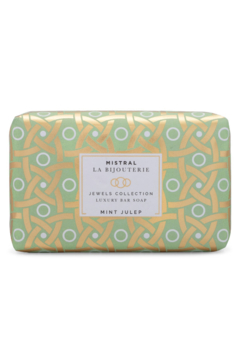 Shoptiques Product: MINT JULEP LA BIJOUTERIE BAR SOAP