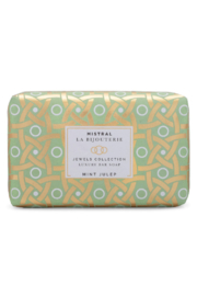 Mistral Soap MINT JULEP LA BIJOUTERIE BAR SOAP - Front cropped