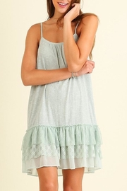 People Outfitter Mint Lace Dress - Product Mini Image
