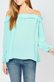 Entro Mint Off-The-Shoulder - Product Mini Image