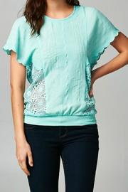 Mint Scallop Top - Product Mini Image