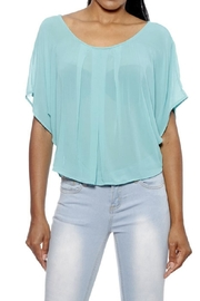 YMI Mint Sheer Top - Product Mini Image