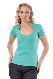 Steady Clothing Mint Sophia Top - Front cropped