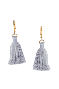 Dana Herbert Mint Tassel Earrings - Alternate List Image
