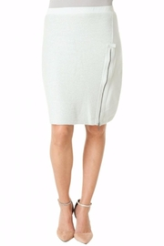 Yest Mint Textured Skirt - Side cropped