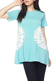 KITTY COUTURE  Mint TieDye tunic - Product Mini Image