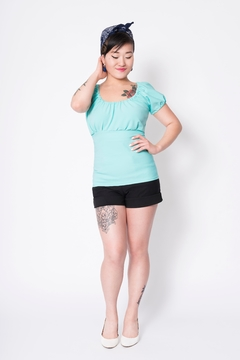 Putre Fashion Mint Trixie Top - Product List Image