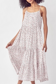 Mint Cloud Boutique Floral Ruffle Tiered Maxi Dress - Front cropped