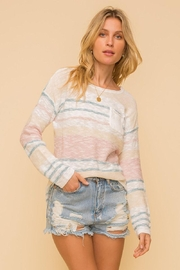 Mint Cloud Boutique Lightweight Cotton Variegated Stripe Knit - Other