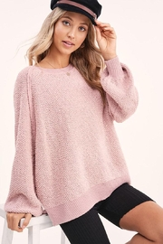 Mint Cloud Boutique Lightweight Knit Pullover Sweater Top - Product Mini Image
