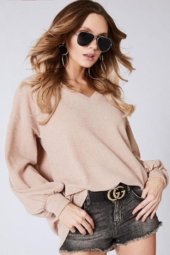 Shoptiques Product: Soft Balloon Sleeve Top