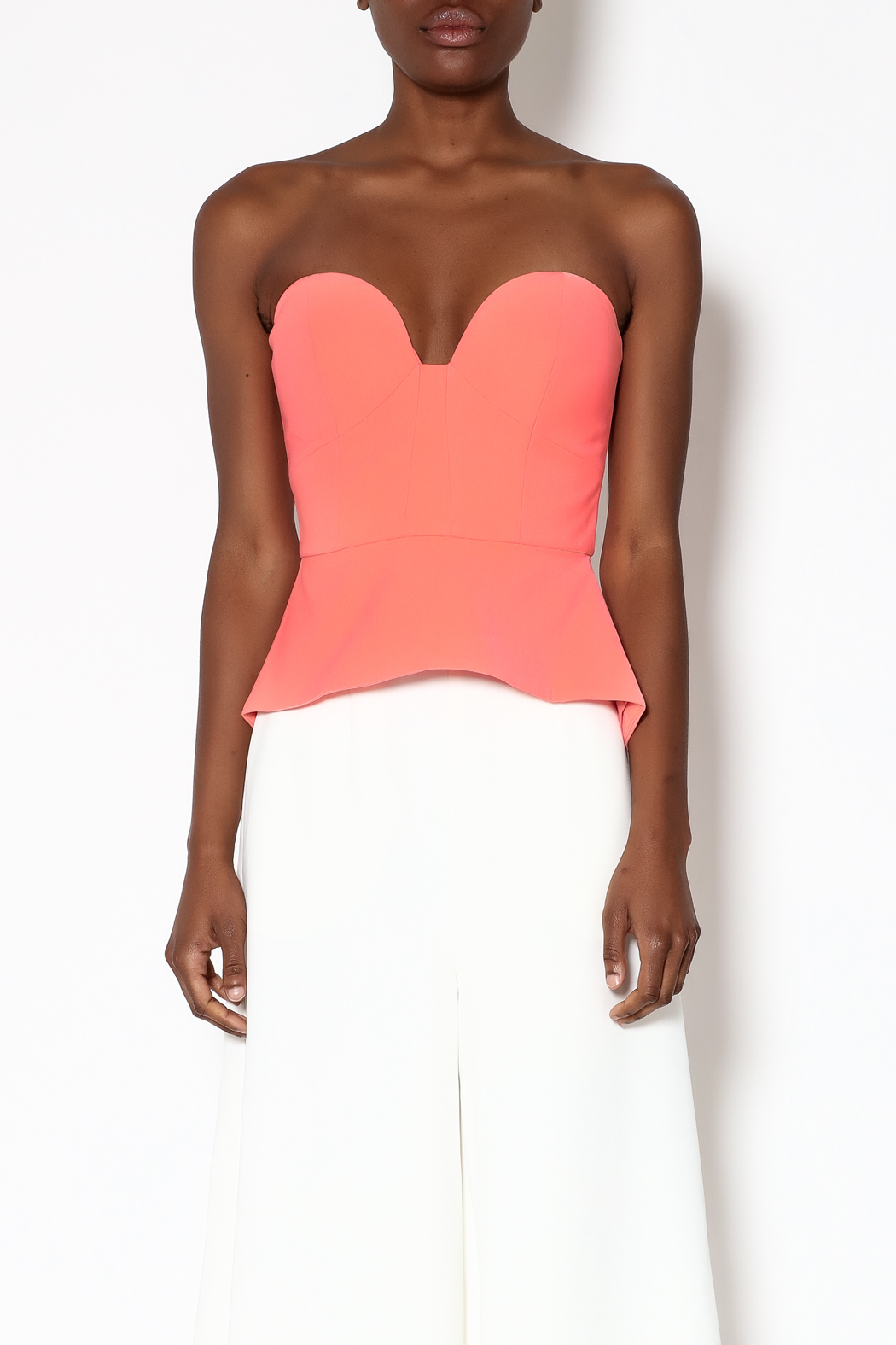 Minty Meets Munt Paloma Bustier Top - Side Cropped Image