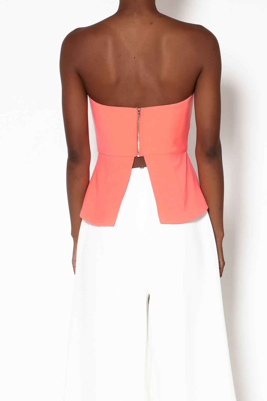 Minty Meets Munt Paloma Bustier Top - Back Cropped Image