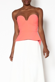 Minty Meets Munt Paloma Bustier Top - Product Mini Image
