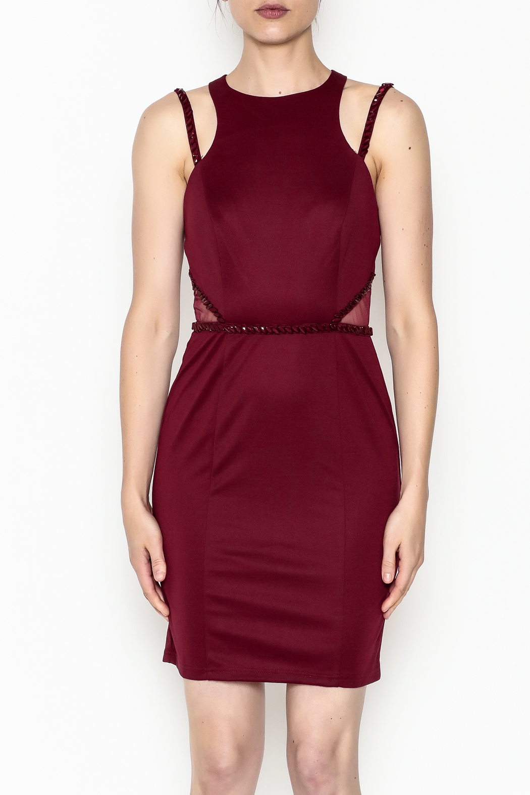 Minuet Holly Cocktail Dress - Front Full Image