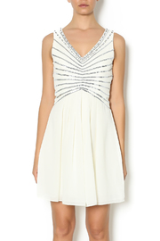 Minuet Karly Sequin Ivory Dress - Product Mini Image