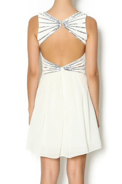 Shoptiques Product: Karly Sequin Ivory Dress