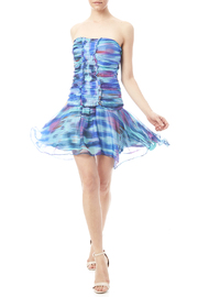 Minuet Multicolor Abstract Dress - Product Mini Image
