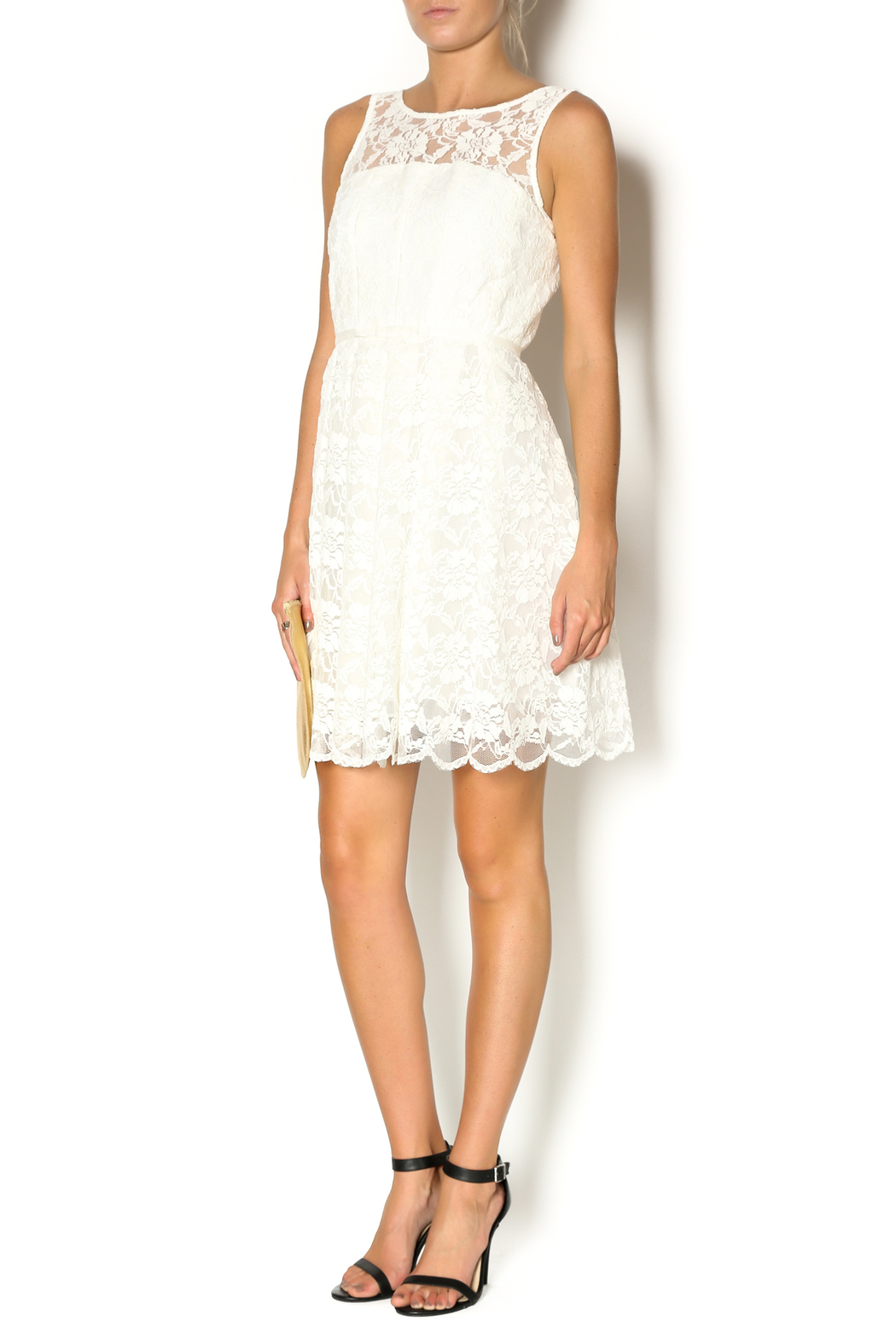 4691ef278a Minuet White Lace Sundress from California by Little Black Dress ...