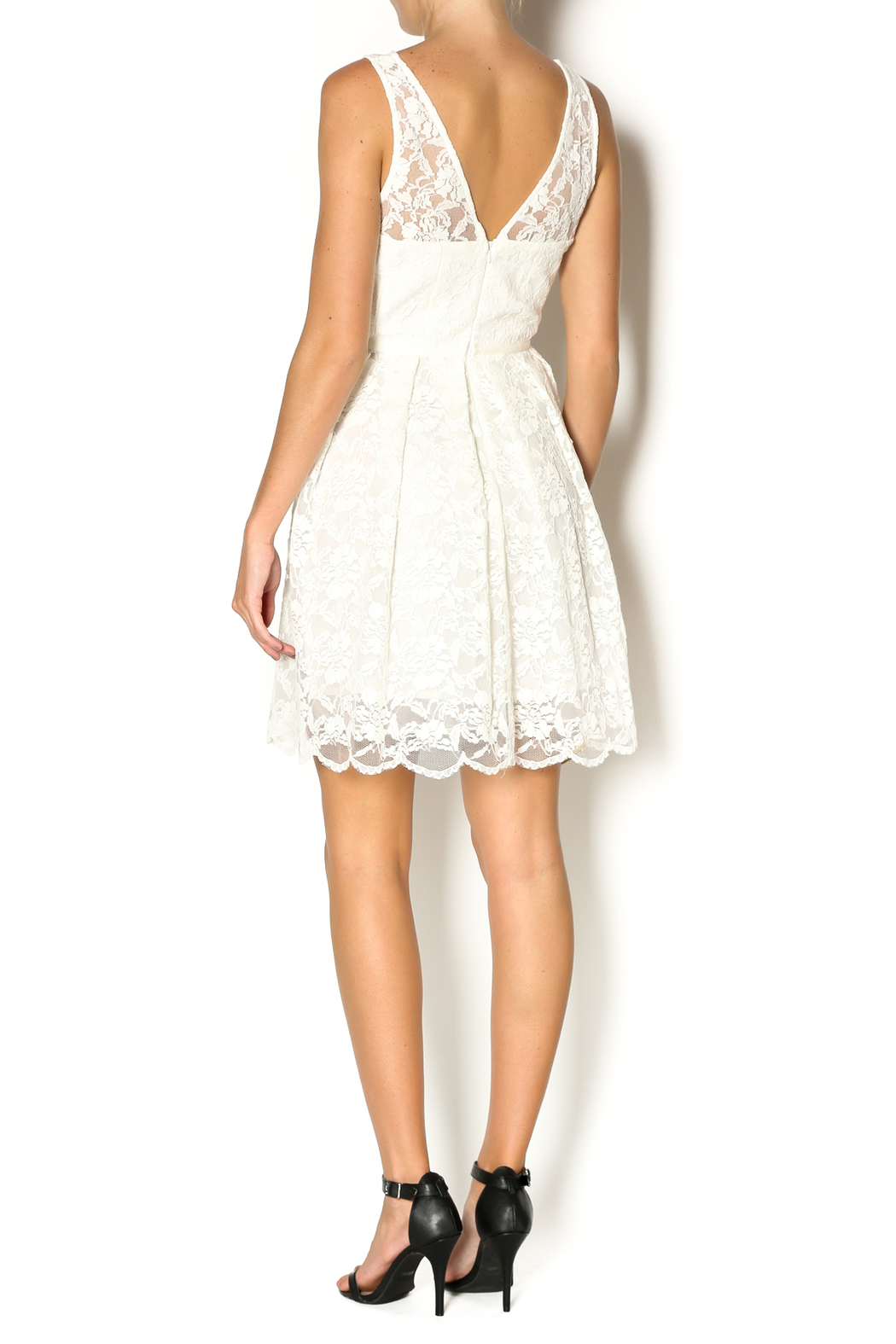 Minuet White Lace Sundress from California by Little Black Dress ...