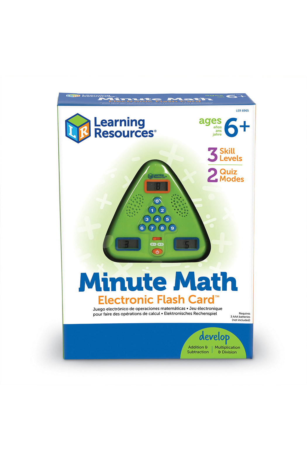 Learning Resources Minute Math - Main Image