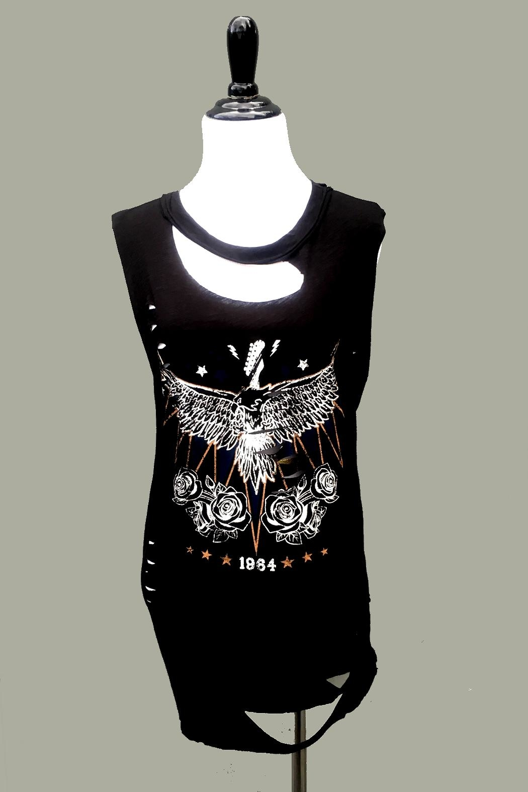 Minx Distressed 1964 Tank - Front Cropped Image