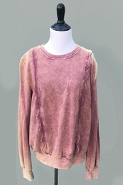 Minx Acid Pink Sweater - Front cropped