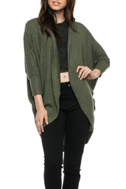 Minx Avocado Cocoon Cardigan - Product Mini Image