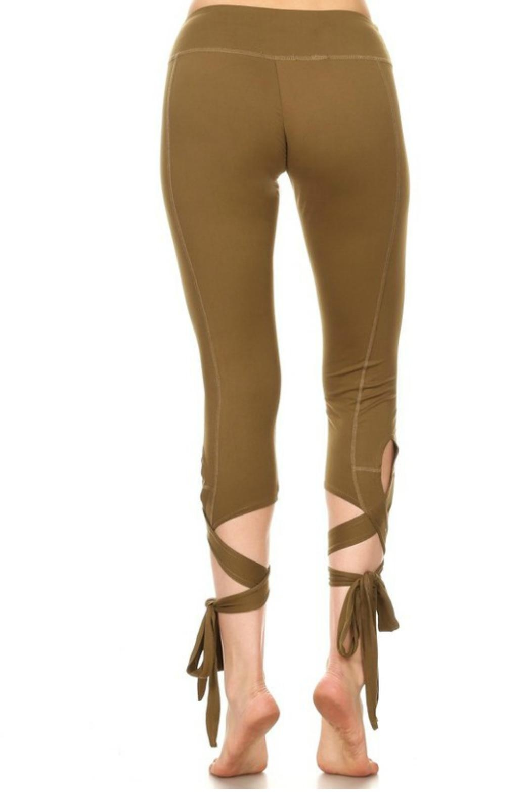 Minx Ballerina Leggings - Side Cropped Image