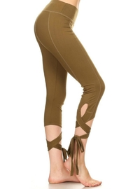 Minx Ballerina Leggings - Front full body