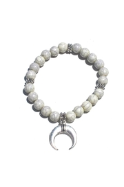Minx Beaded Charm Bracelet - Front cropped