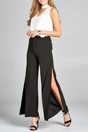 Minx Black Pants - Front full body