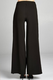 Minx Black Pants - Back cropped