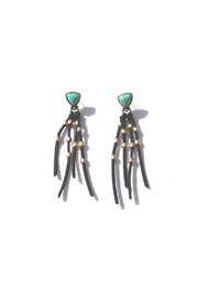 Minx Bohemian Fringe Earrings - Product Mini Image