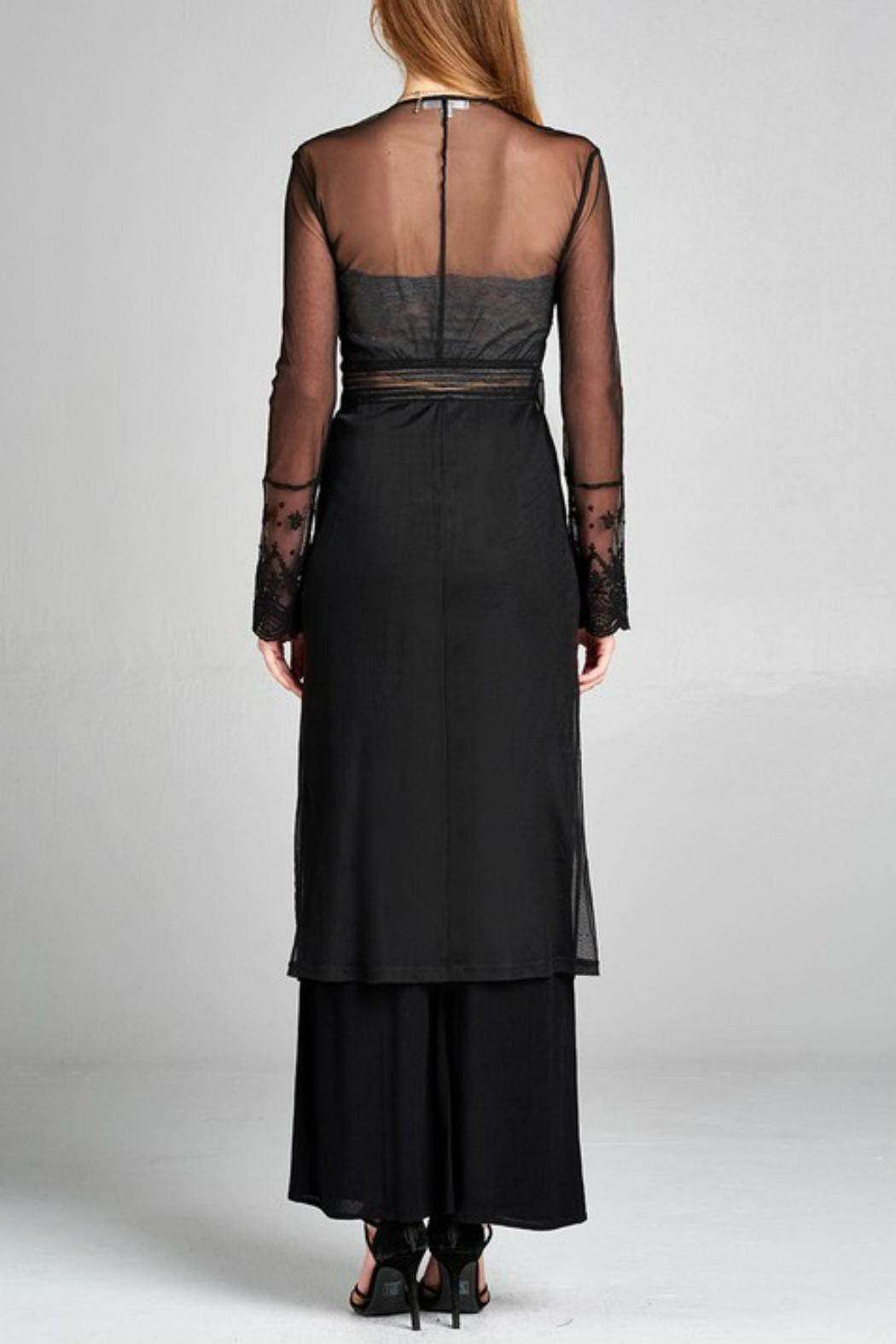 Minx Bohemian Lace Duster - Side Cropped Image