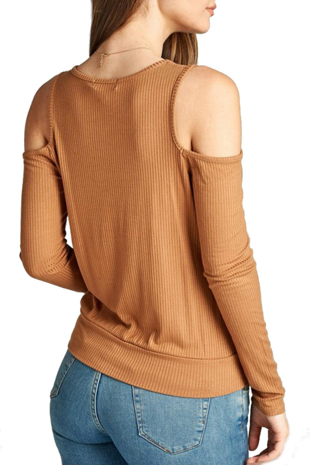 Minx Camel Crossover Top - Front Full Image