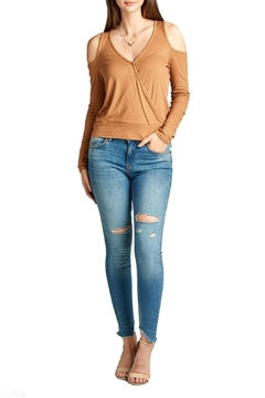 Minx Camel Crossover Top - Product List Image