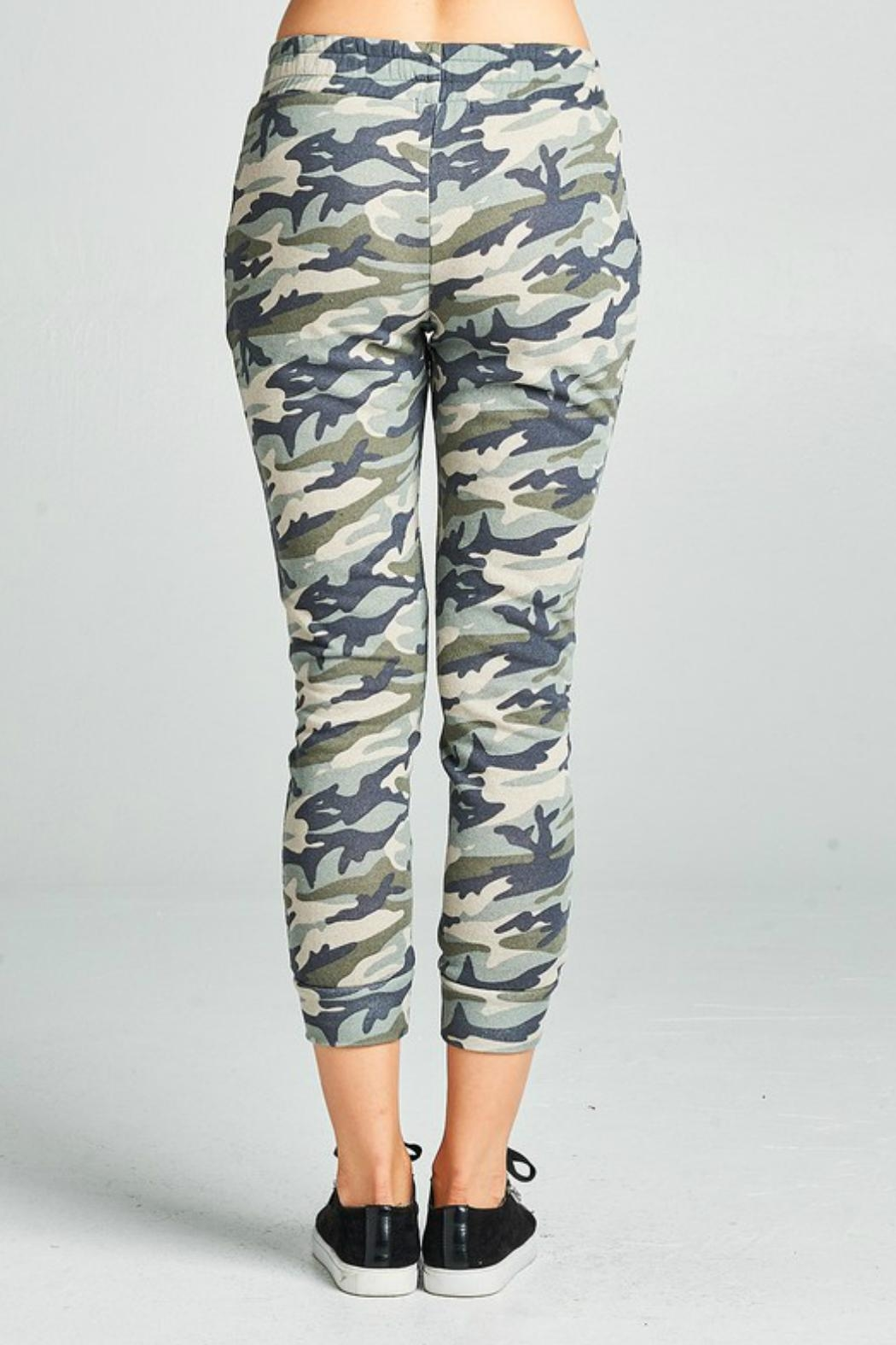 Minx Camouflage Joggers - Side Cropped Image