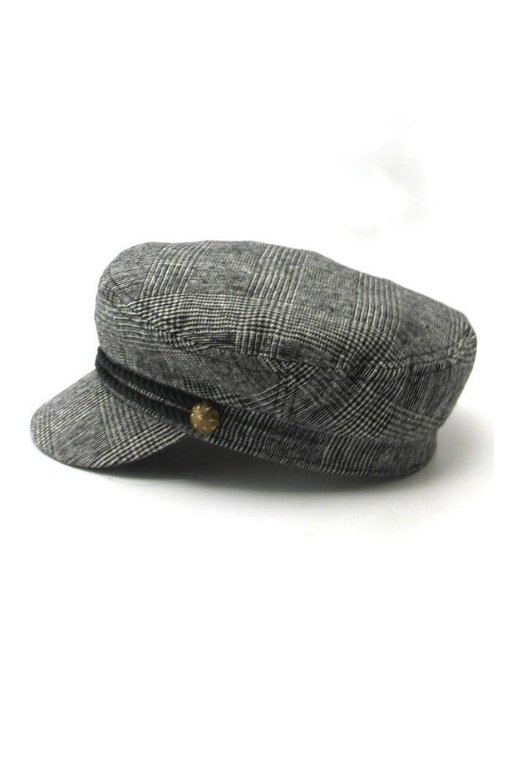Minx Checkered Fisherman Hat - Front Full Image