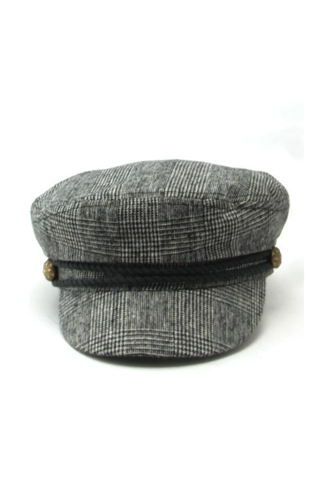 Minx Checkered Fisherman Hat - Front Cropped Image