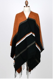 Minx Color Block Poncho - Product Mini Image